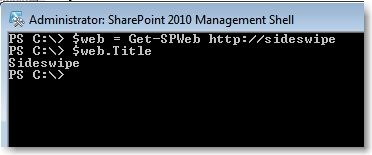 Using PowerShell to play with SharePoint Items – David Lozzi's Blog