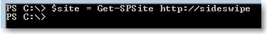 Get-SPSite