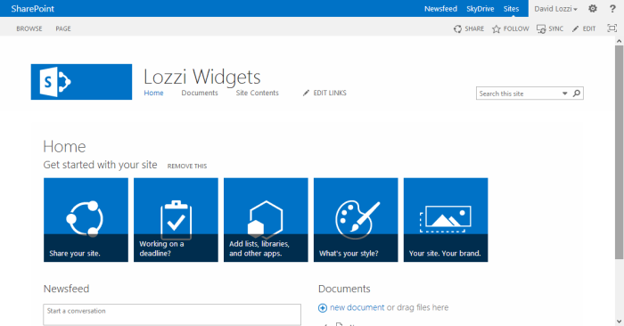 SharePoint's Oslo Masterpage