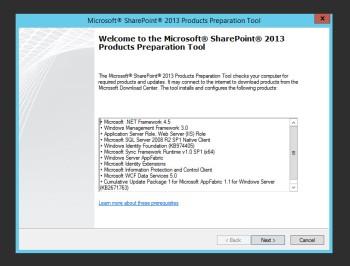 SharePoint Prerequisite Installer