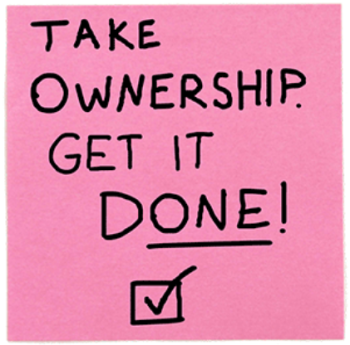Take Ownership and Get it Done!