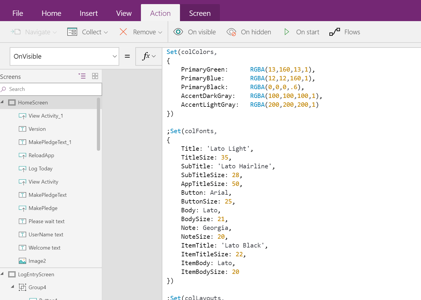 Custom Style Sheets for PowerApps, pseudo CSS | David