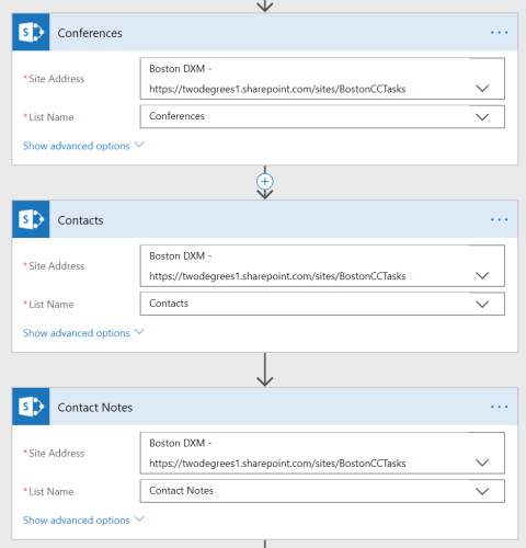 Properly renamed actions in MIcrosoft FLow