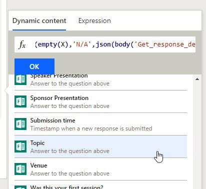 Parse likert value using json expresson