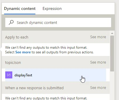 Using Microsoft Forms Likert questions in Flow | David