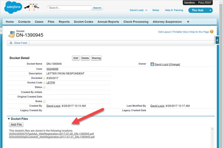 SharePoint files listed in Salesforce