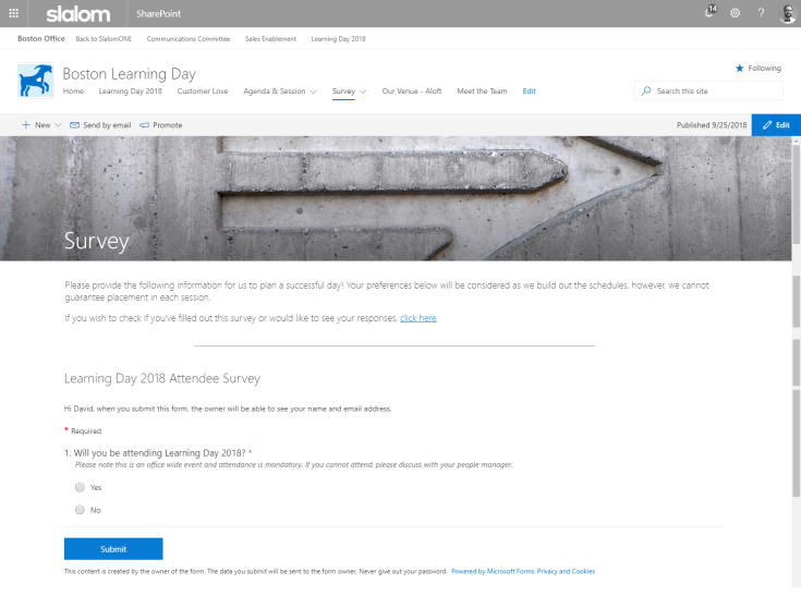 microsoft forms in sharepoint page.png