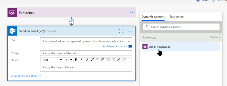 Naming your PowerApps Parameters in Microsoft Flow – David Lozzi's Blog