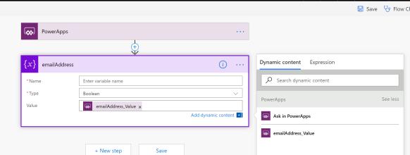 Naming your PowerApps Parameters in Microsoft Flow   David