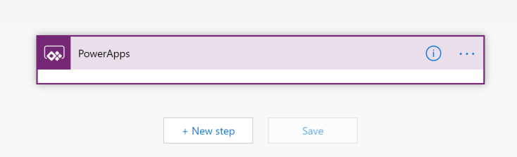 empty powerapps trigger in microsoft flow